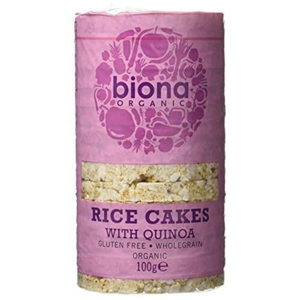 كعك الأرز مع الكينوا عضوي خالي من الجلوتين 100 جرام