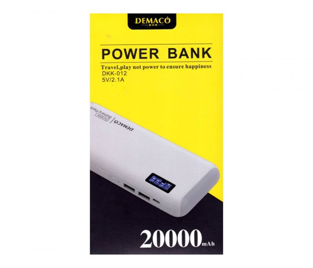 Demaco Power Bank 20000mAh