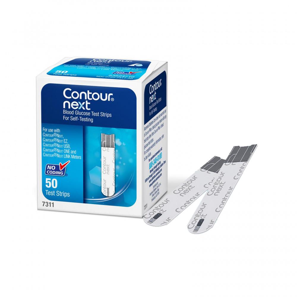 شرائط جهاز قياس السكر كونتور نيكست Contour Next غيداء الطبيه متجر إلكتروني