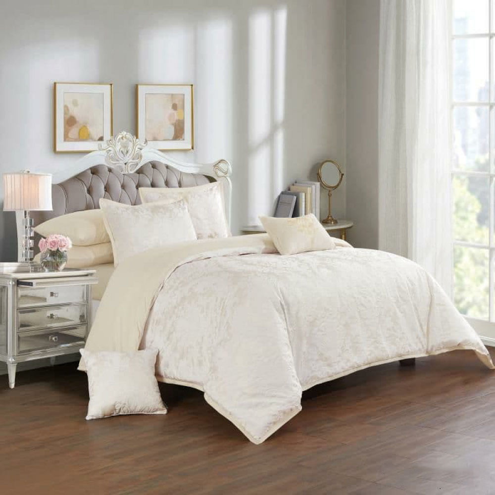 مفرش جاكار روزانا - مفارش سرير