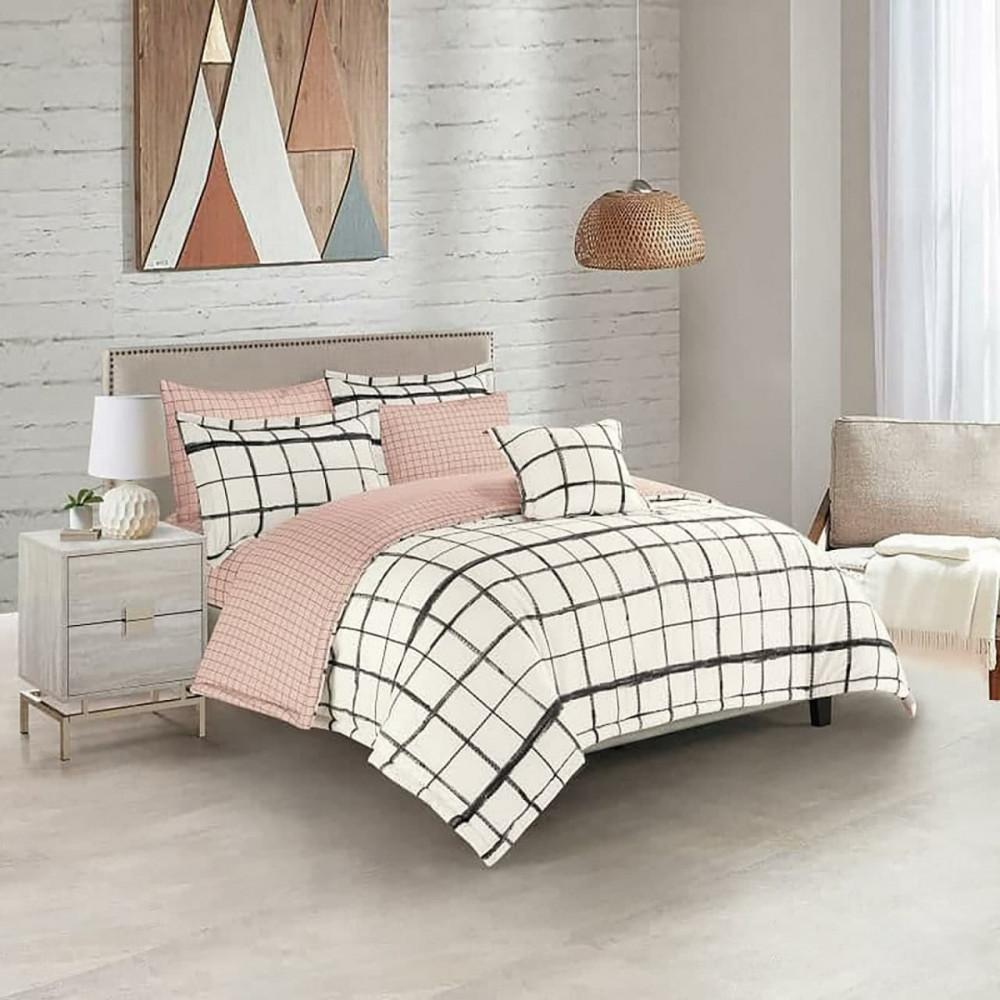 طقم مفرش سرير نفرين - مفارش صيفيه