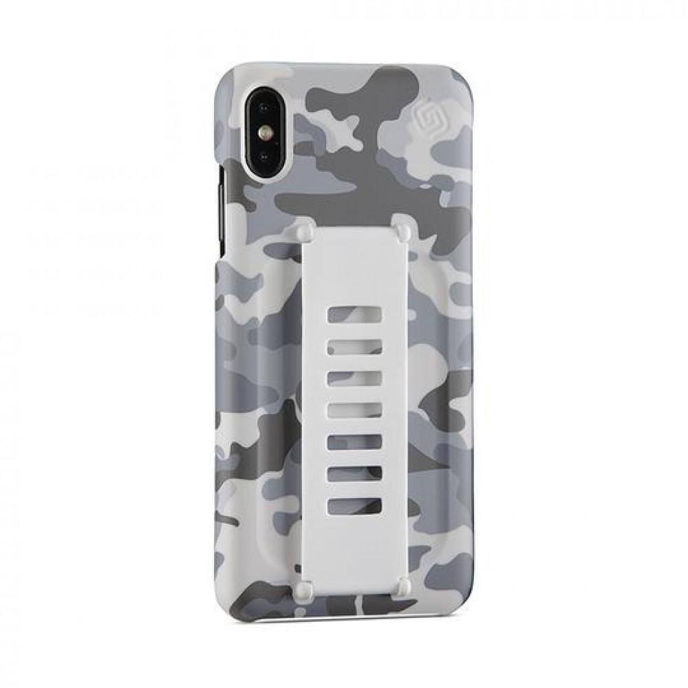 كفر جوال لون جيشى مموه grip2u - iPhone X-MAX