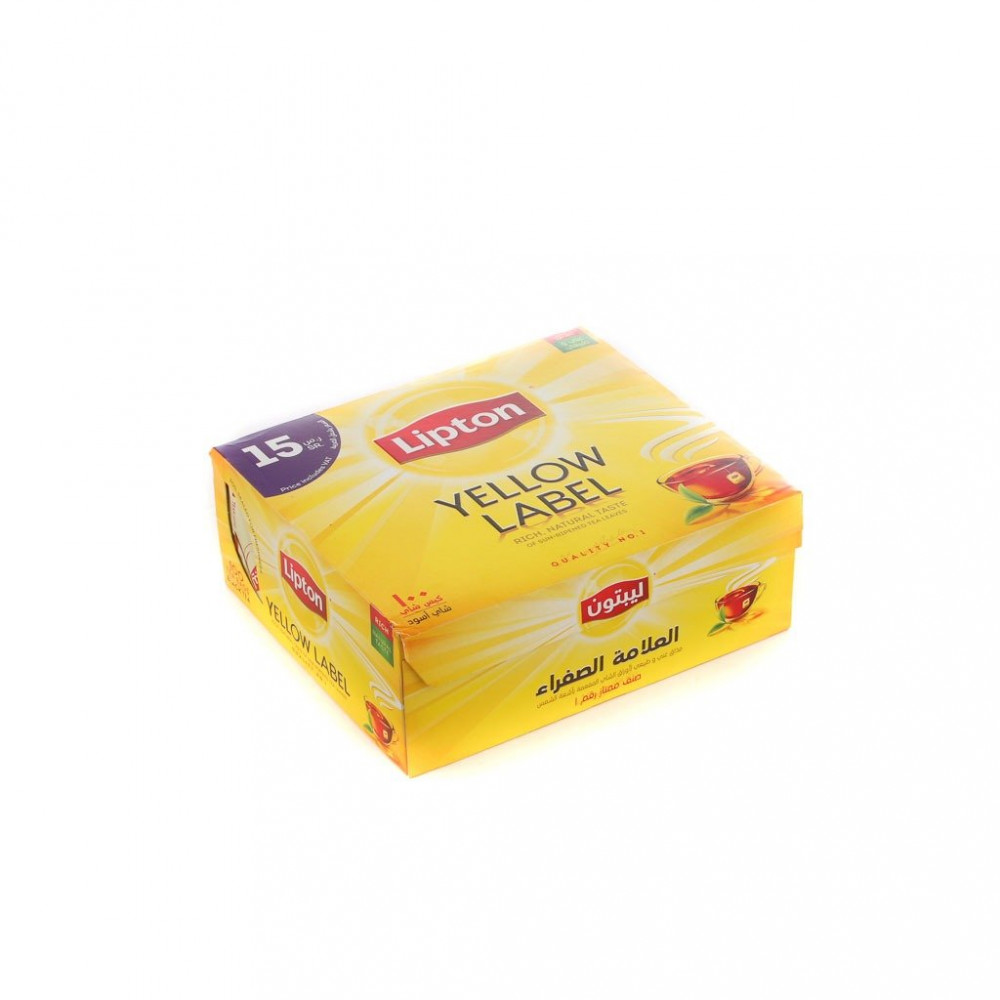 شاي ليبتون علاقي 100 كيس