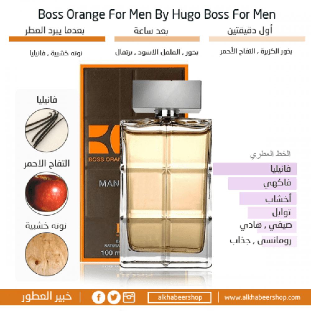 Hugo Boss Orange For Men Eau de Toilette  متجر خبير العطور