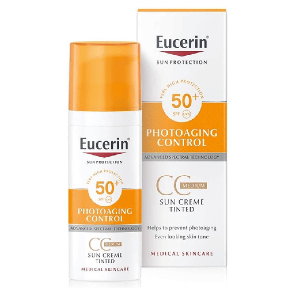 Eucerin كريم cc واقي شمس يوسيرين cream افضل واقي شمس  ارخص واقي شمس