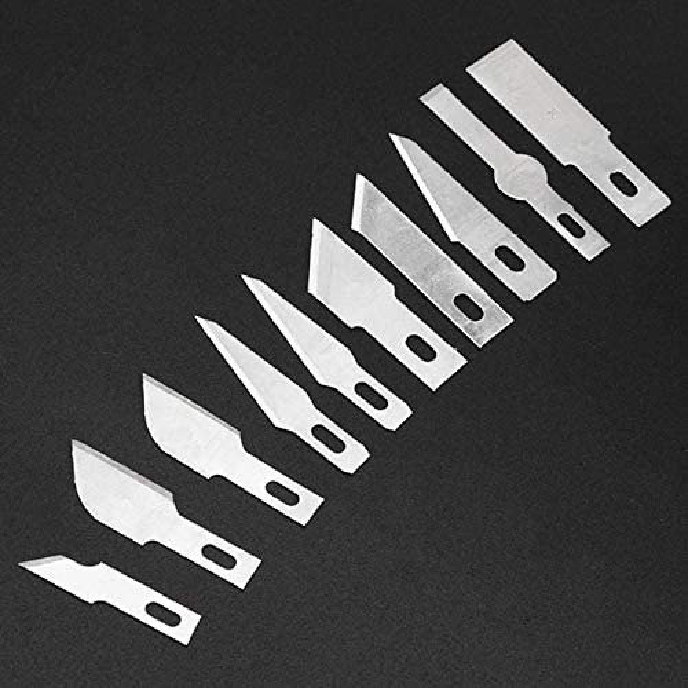 طقم سكاكين من 13 شفرة متعددة الوظائف نحت نقش قطع حفرللاعمال الحرفية