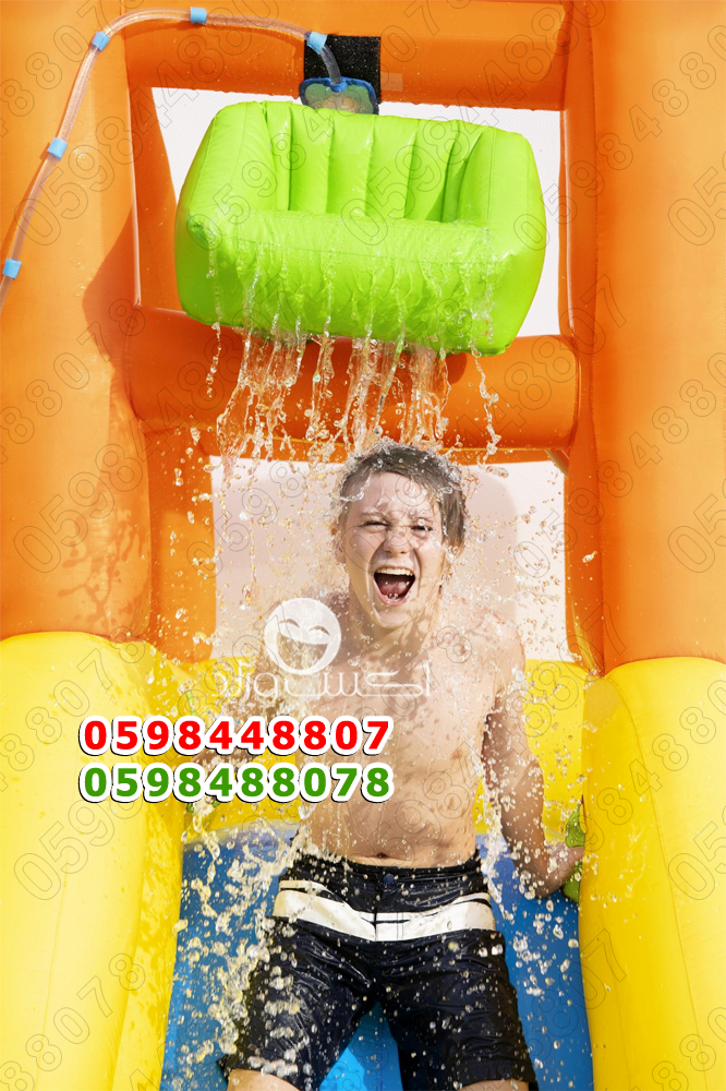 زحليقة مائية زحاليق صابونية زحليقه مسبح حوض برك سباحة بركة حمام مسبح