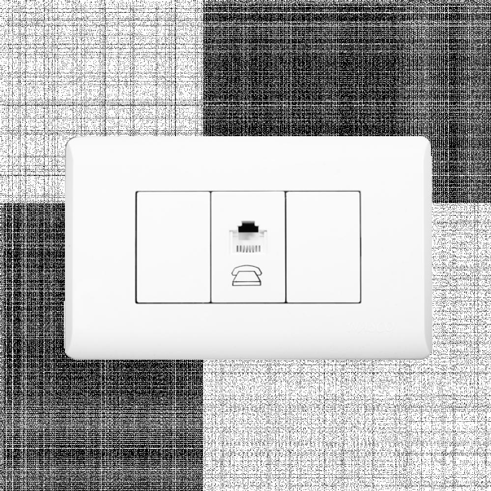 فيش تليفون - نظام أمريكي - Telephone Socket