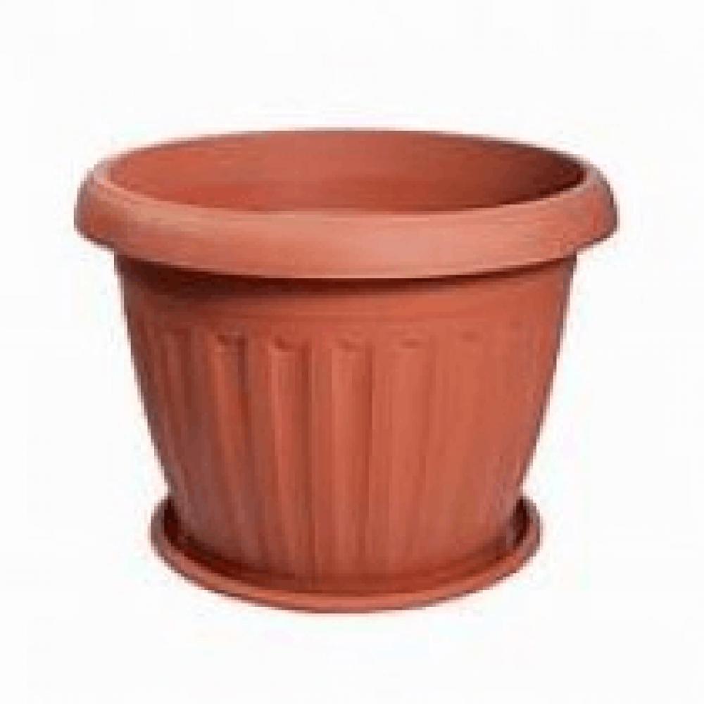 وعاء نباتي مستدير-متجر بذور الزراعي