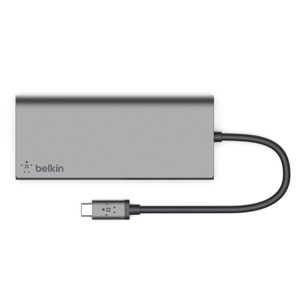 وصلة Hub من Belkin لتوصيل عدد كبير من الأجهزة والإكسسوارات باللابتوب