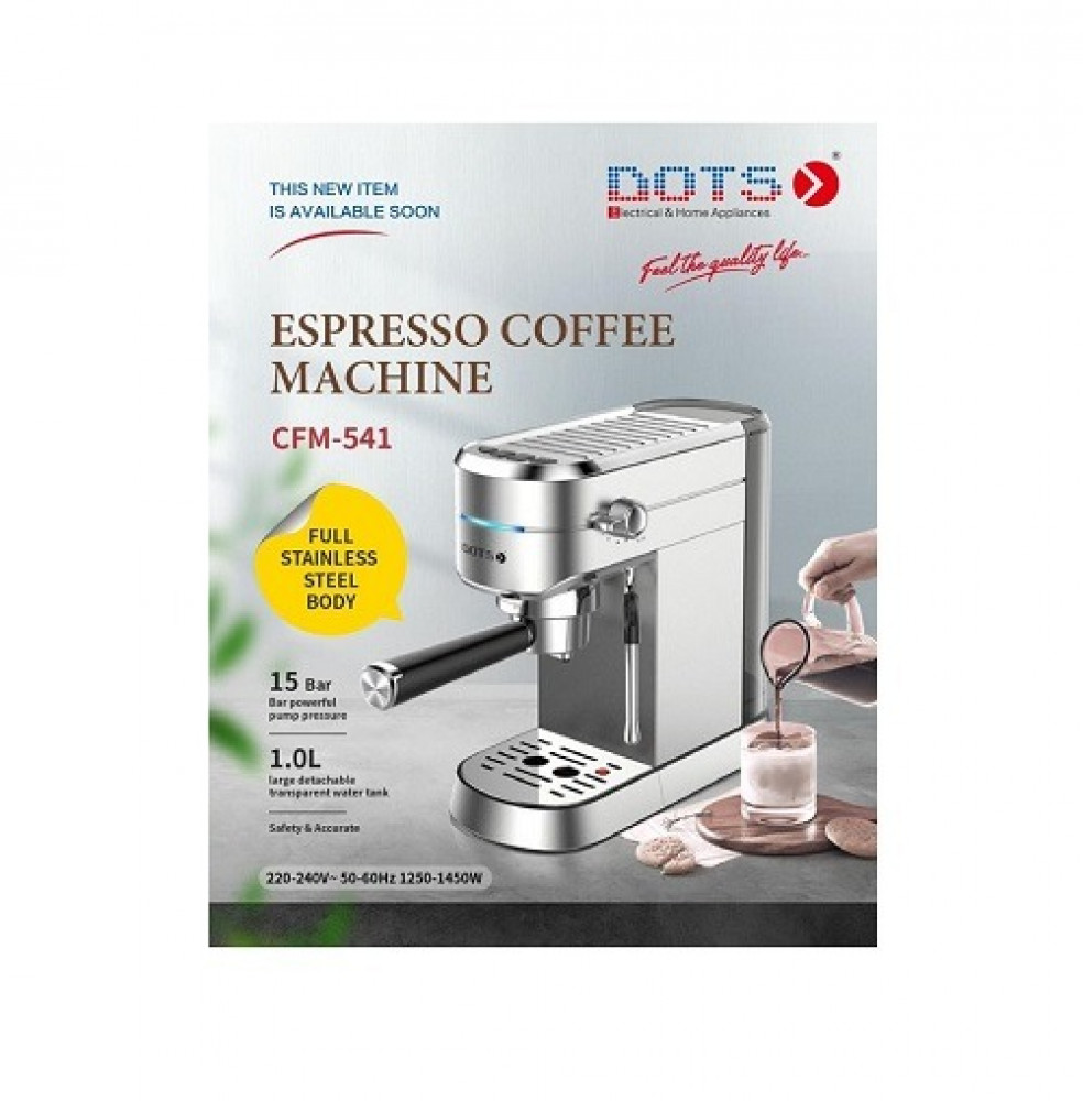 محضره قهوه دوتس 1450 واط DOTS Coffee Maker CFM-541