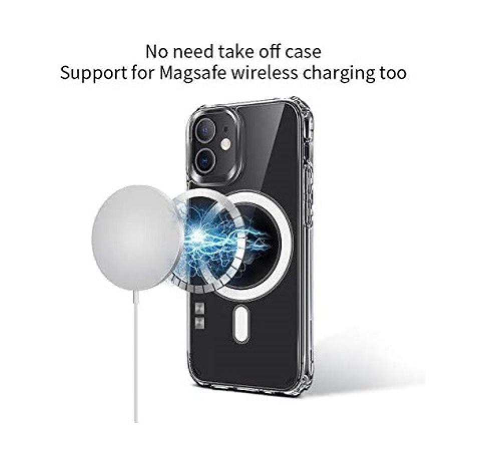 حافظة حماية هاتف مغناطيسية ماجسيف ايفون 12 برو ماكس Magsafe Magnetic P
