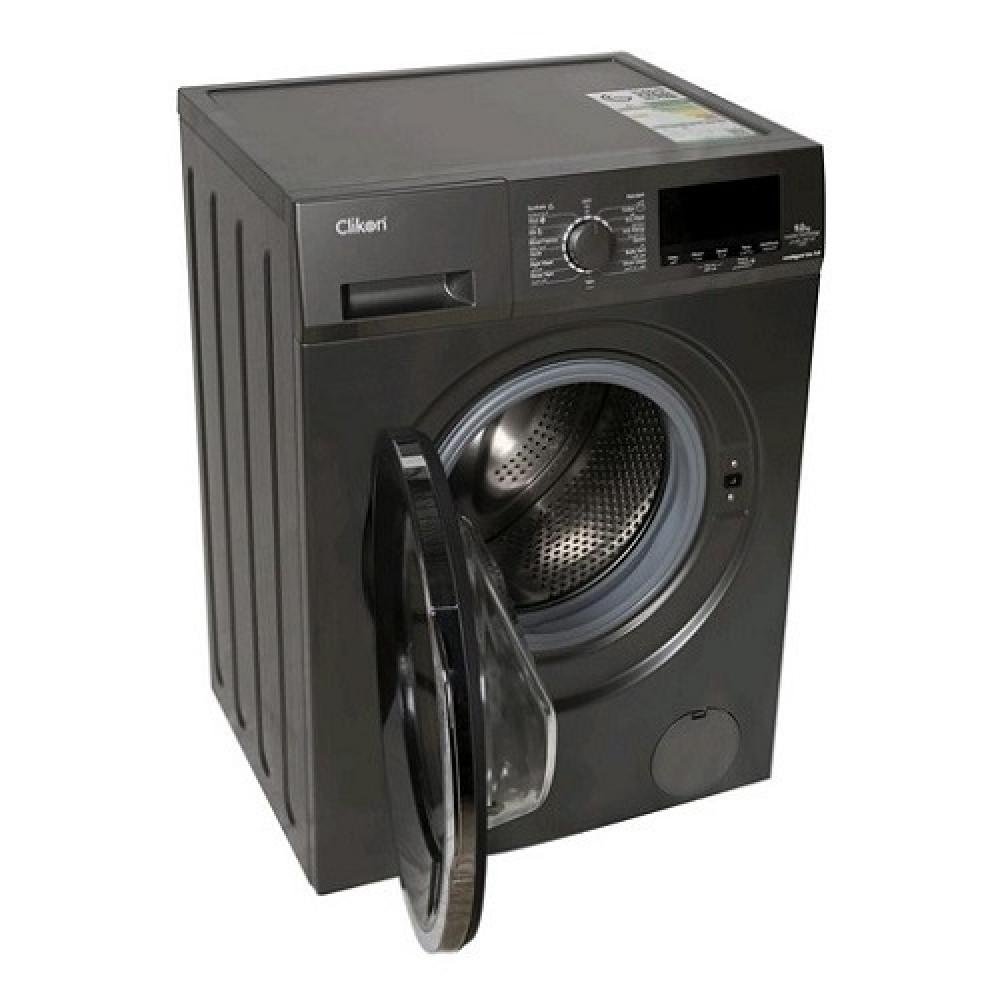 غساله اوتوماتيك كليكون فتحه اماميه 9 كيلو Clikon Washing Machine CK626