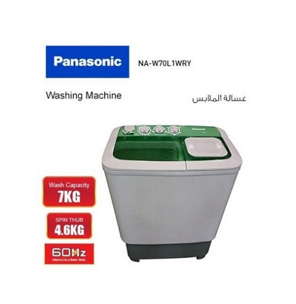 غسالة باناسونيك 7 كج Panasonic Washing Machine NA-W70L1WRY
