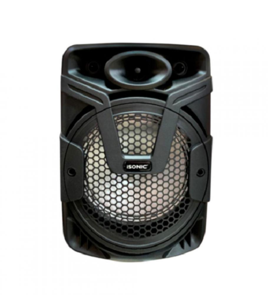 مكبر صوت محمول بلوتوث وجهاز تحكم عن بعد ميكروفون لاسلكي iSONIC IS 445