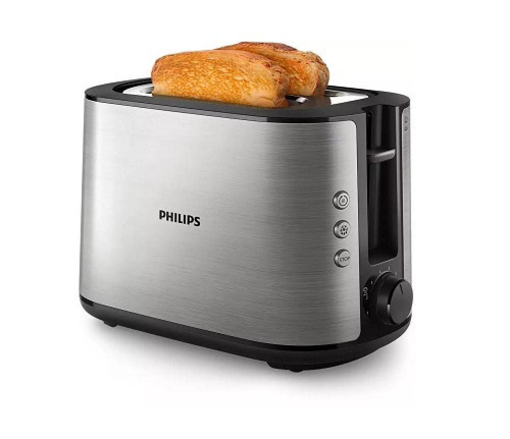 محمصه خبز فيليبس 950 واط Philips Viva Collection Toaster HD2650