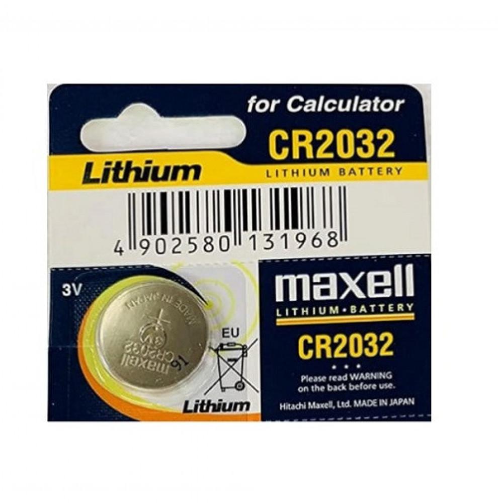 بطاريه ماكسيل Maxell Lithium Coin Battery CR2032 للحبه الواحده