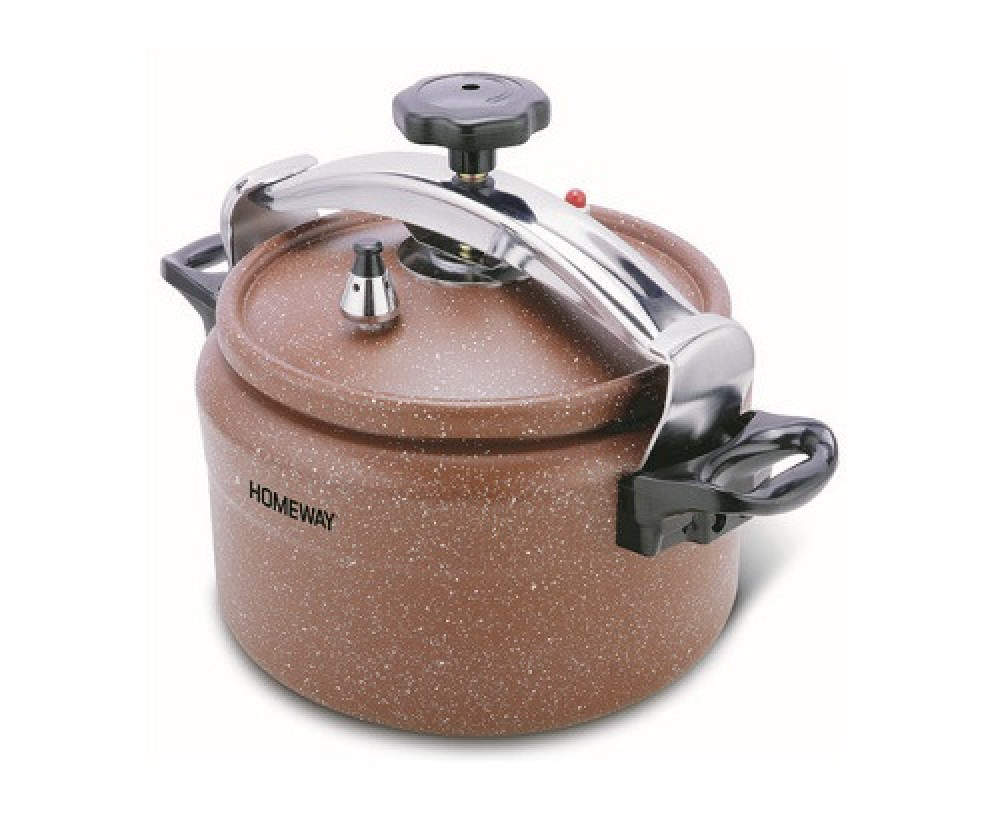 قدر ضغط هوم واي جرانيت 9 لتر Homeway Marble Pressure Cooker HW3438