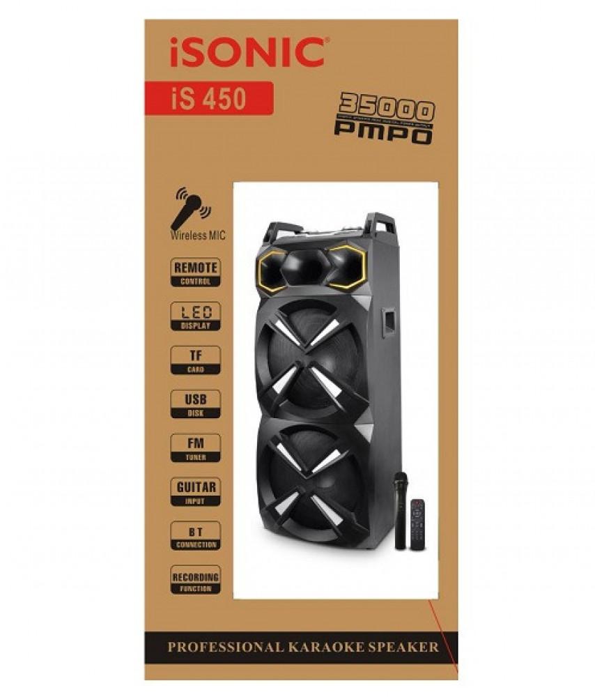 مكبر صوت كاريوكي آيسونيك iSonic Professional Karoake Speaker IS 450