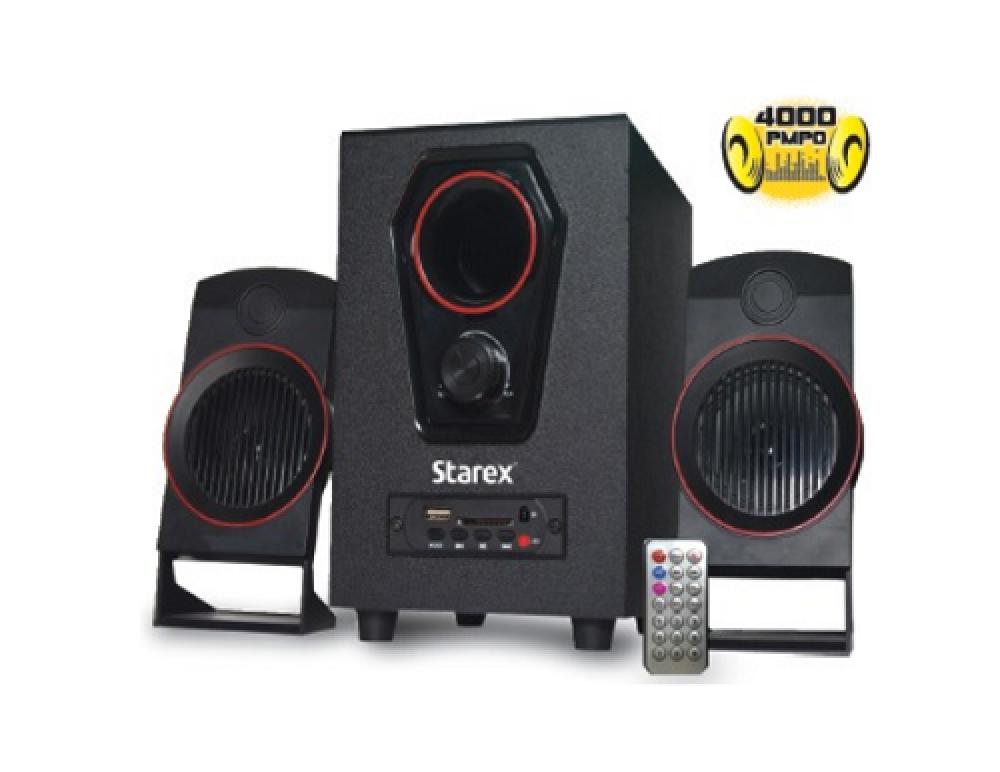 مكبر صوت بلوتوث مع ريموت Starex SP 468 4000 PMPO