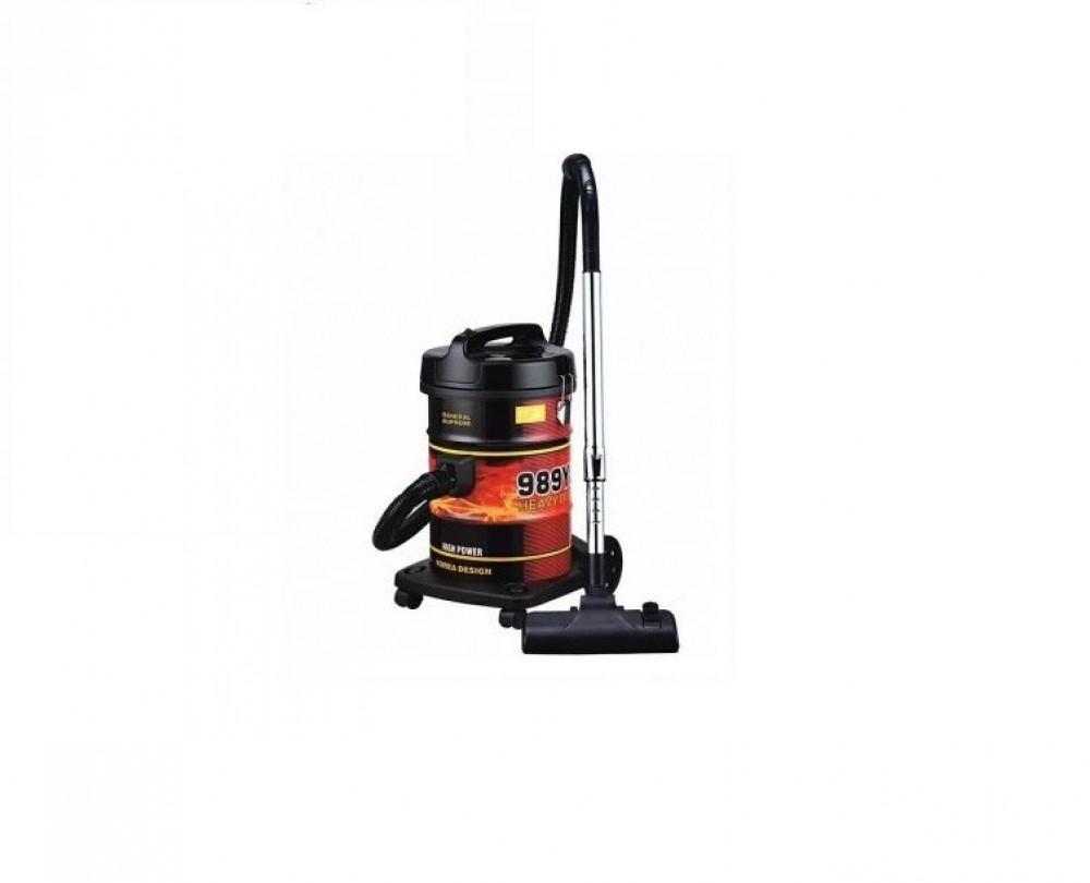 مكنسة برميل 1600واط جنرال سوبريم General Supreme Vacuum Cleaner GSV22