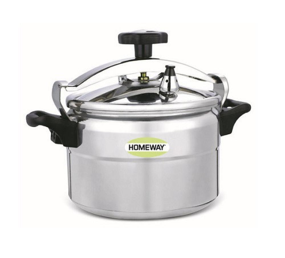 قدر ضغط ستانلس ستيل هوم واي 11 لتر Homeway Pressure Cooker HW6602