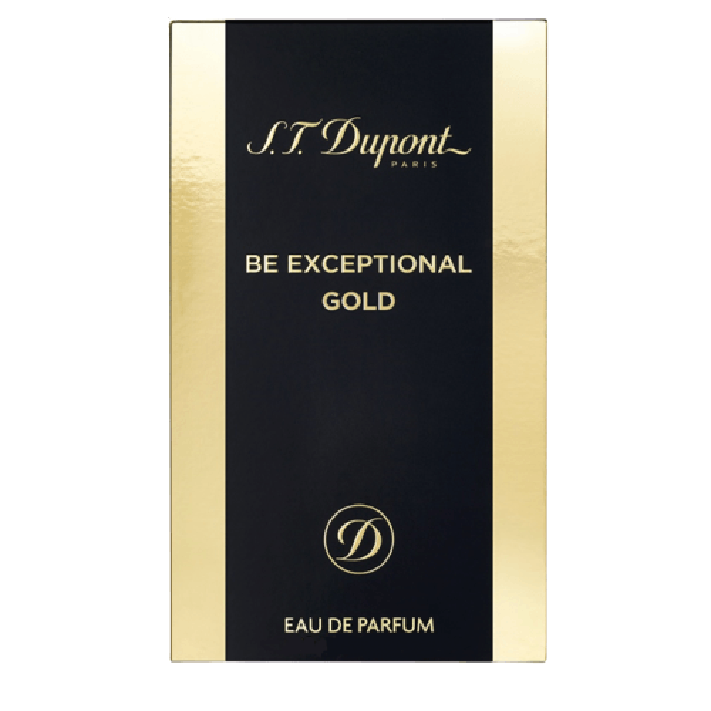 S-T- Dupont Be Exceptional Gold Eau de Parfum Sample 1-2ml خبير العطور