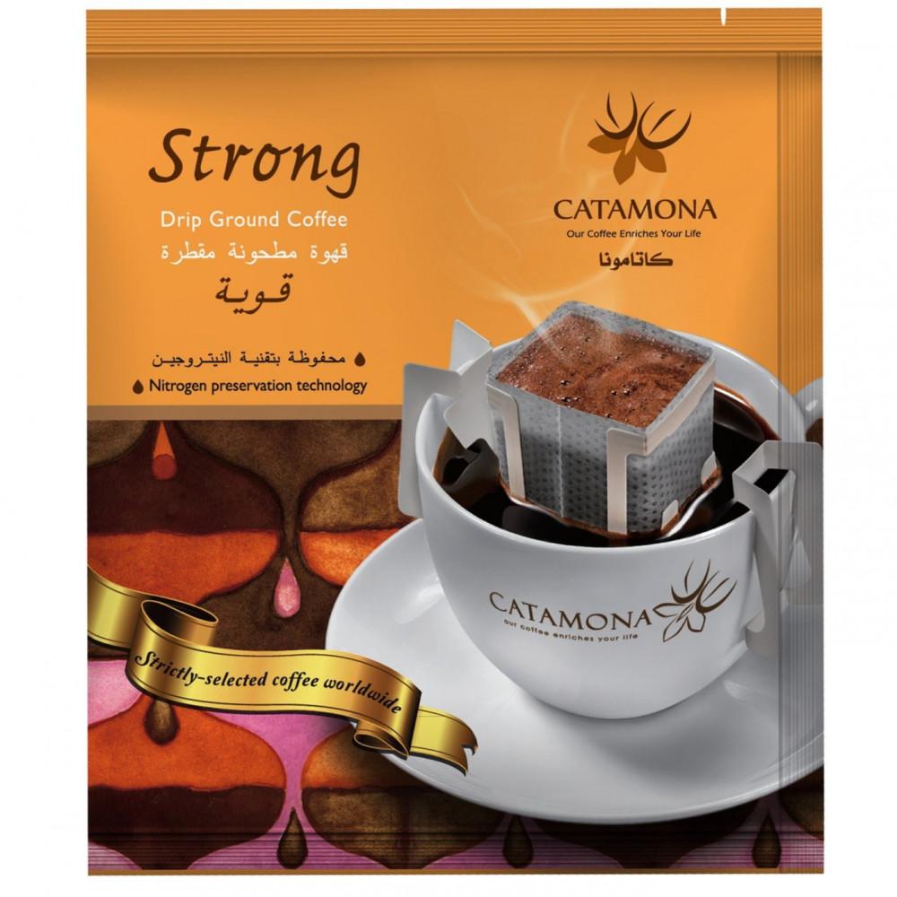 قهوة مطحونة مقطرة قوية كاتامونا