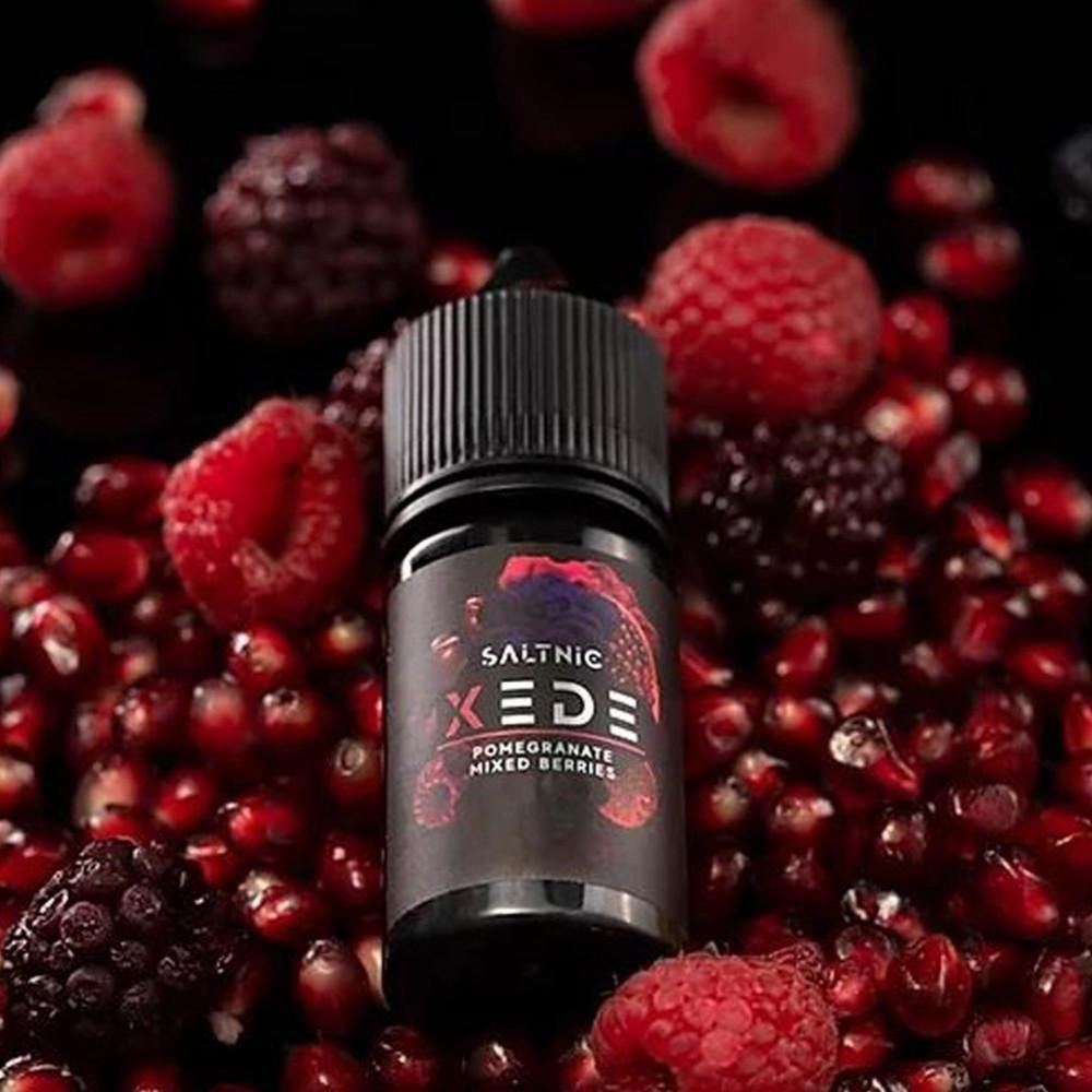 نكهة سام فيب توت رمان سولت XEDE Pomegranate Mixed Berries - Sam Vape