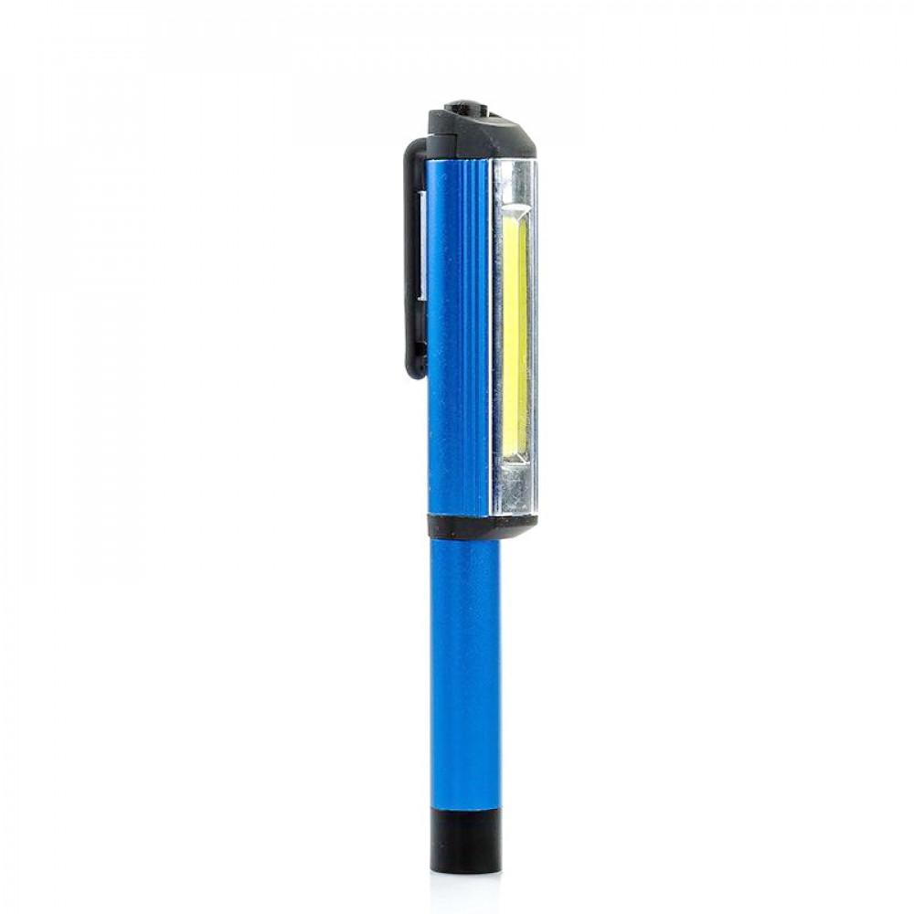 مصباح كشاف على شكل قلم جيب من الألومنيوم بجودة عالية مع قاعدة مغناطيس