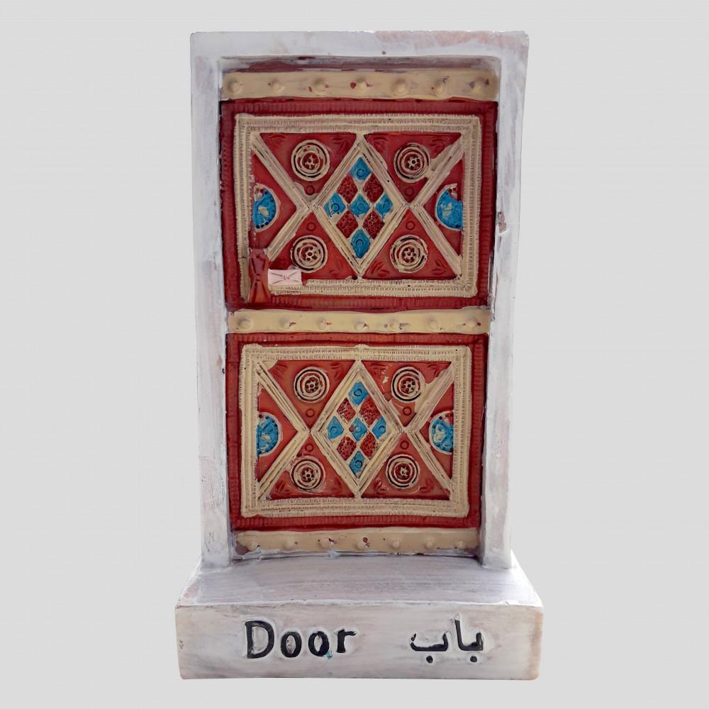 باب نجدي والزخارف التقليدية