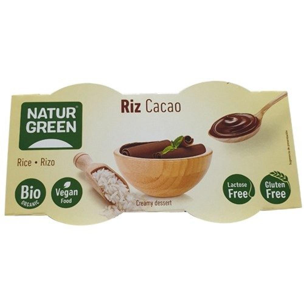 حلى الأرز مع الشوكلاته العضوي 250 جرام