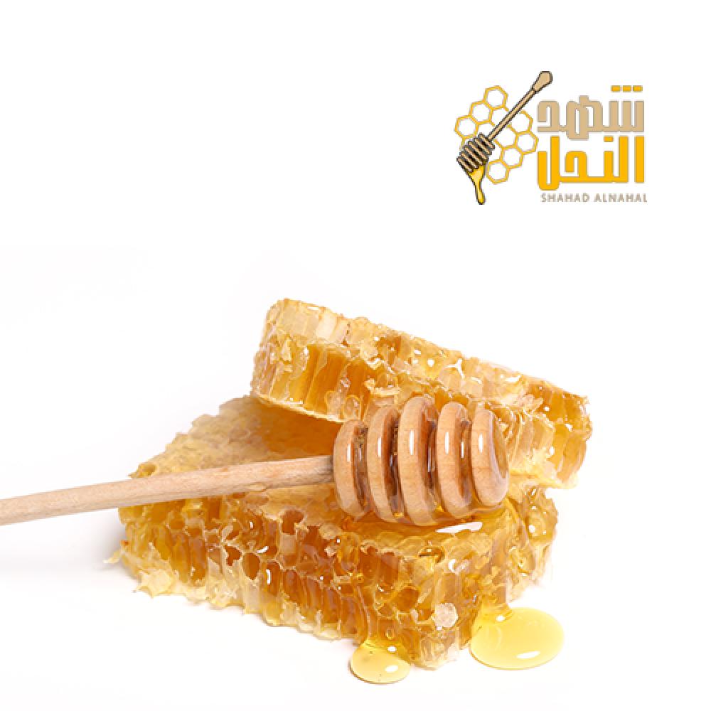 شمع عسل سمرة بلدي خالي من التغذية