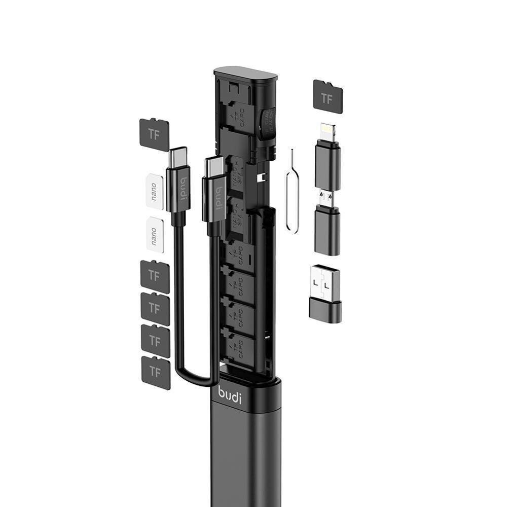 محفظة الشواحن المتطورة كل أسلاك الشحن في قطعة واحد بحجم قلم