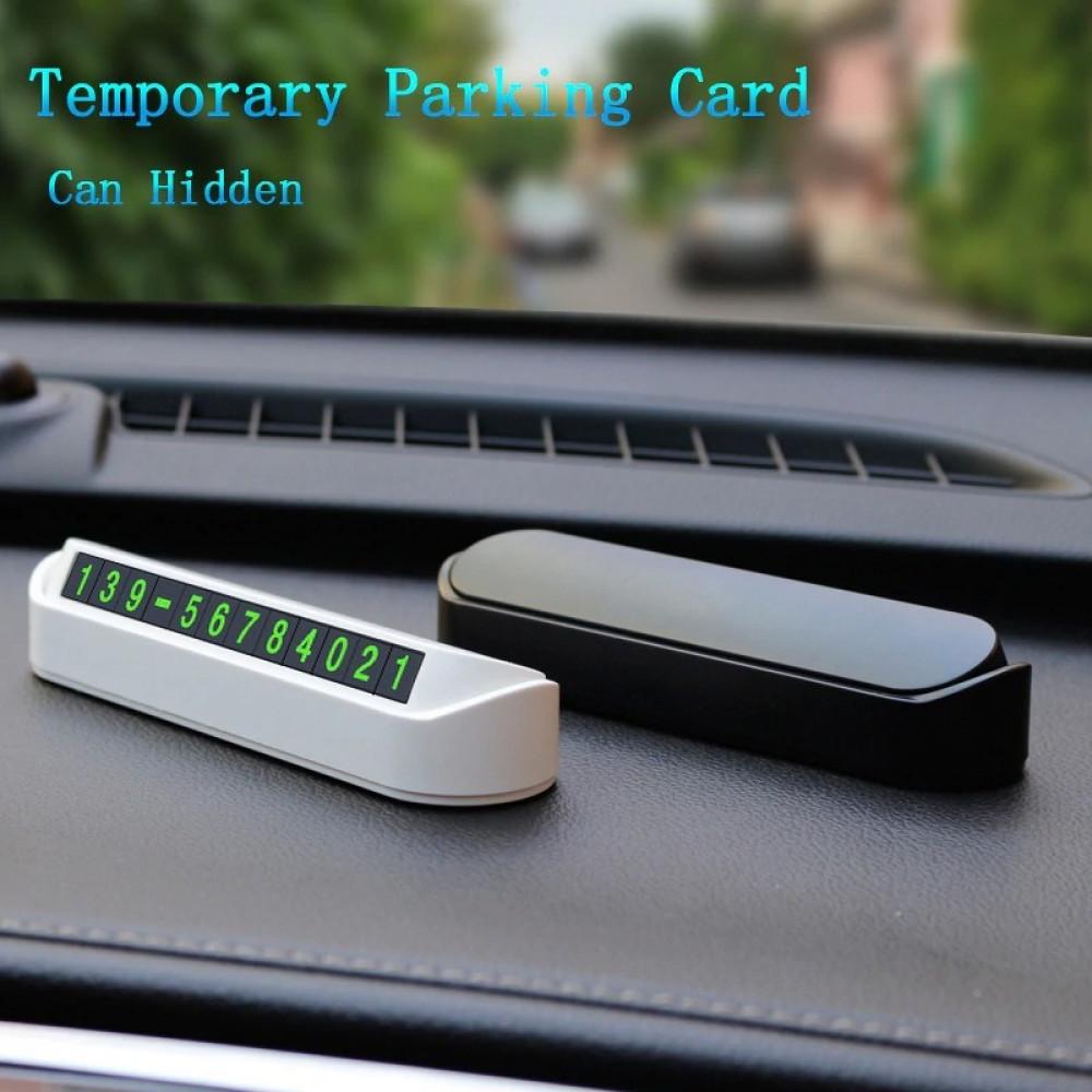 بطاقة ركن السيارة للتواصل الطارئ