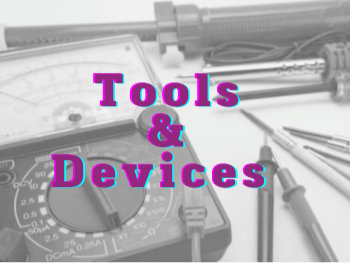 الأدوات والأجهزة