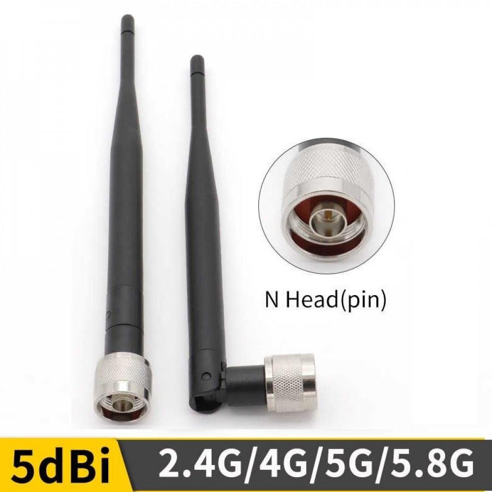 هوائي 2جي 3 جي 4جي 5 جي ال تي أي 5-8 ديسيبل مع موصل N