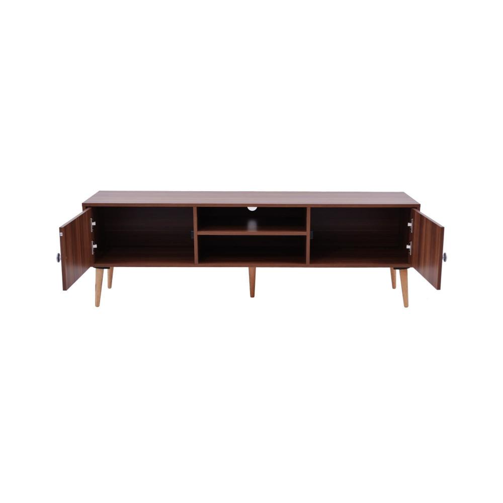 طاولة تلفازيون C-150-teak 0121 من كاما