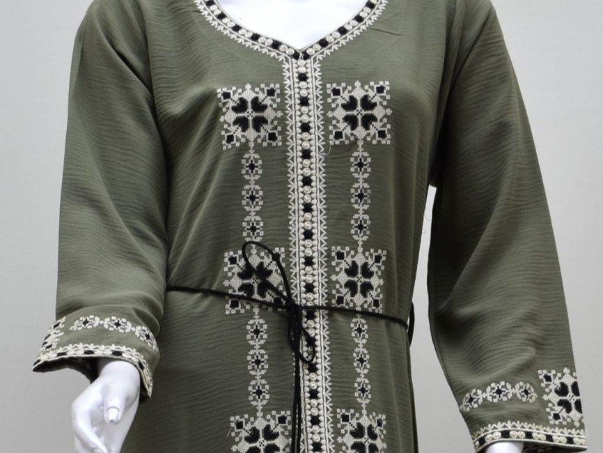 فستان ظريفة - زيتي
