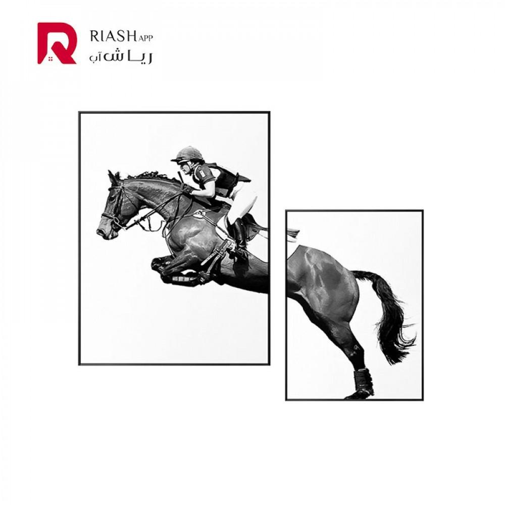 حصان لوحة رياش اب