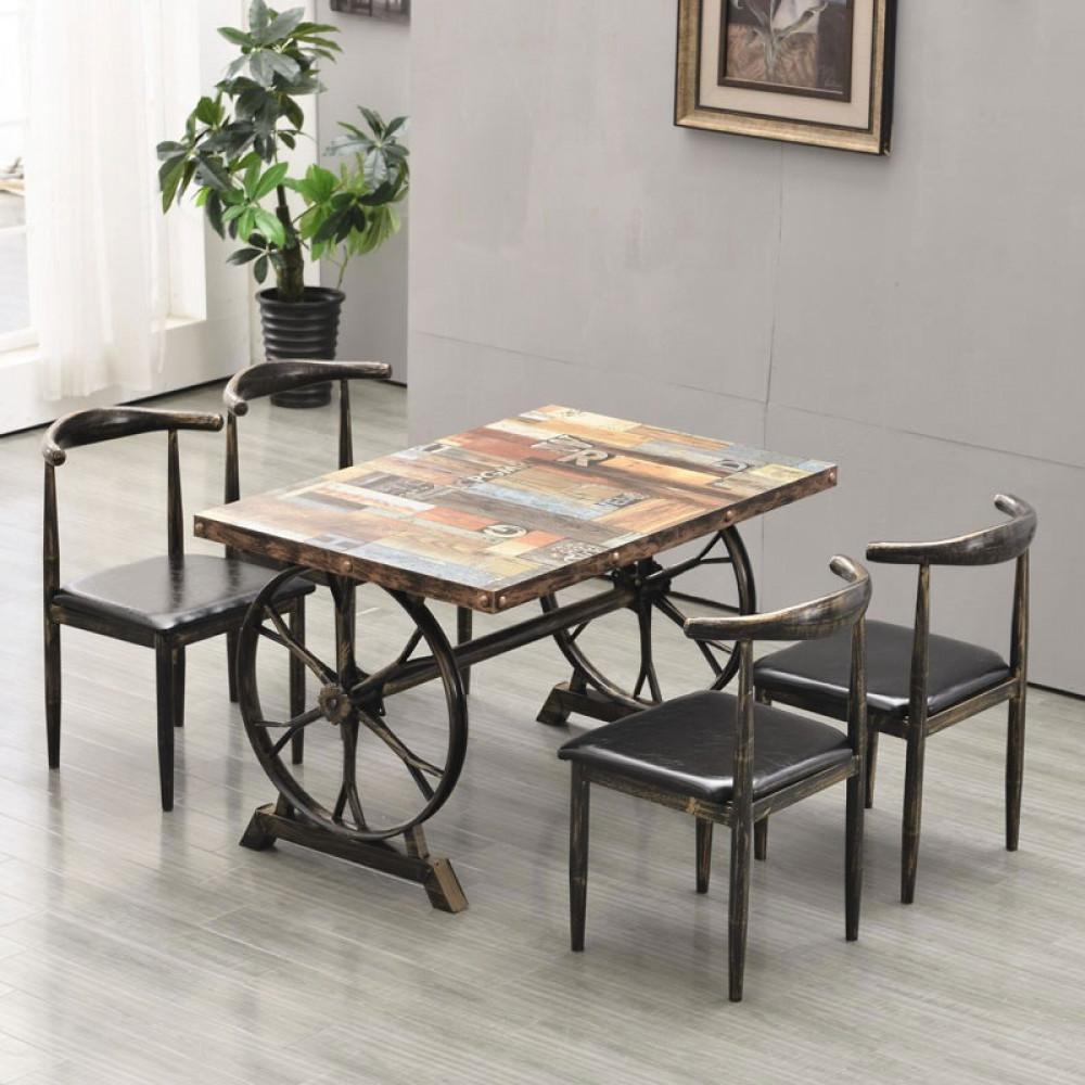 اثاث رياش اب طاولة طعام تصميم ريفي