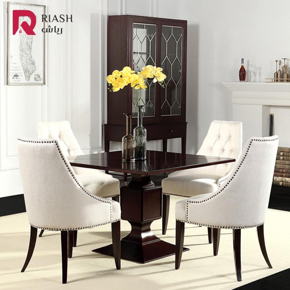 اثاث منزلي غرفة نوم كرسي كرسي مفرد كرسي طاوله طعام من رياش اب