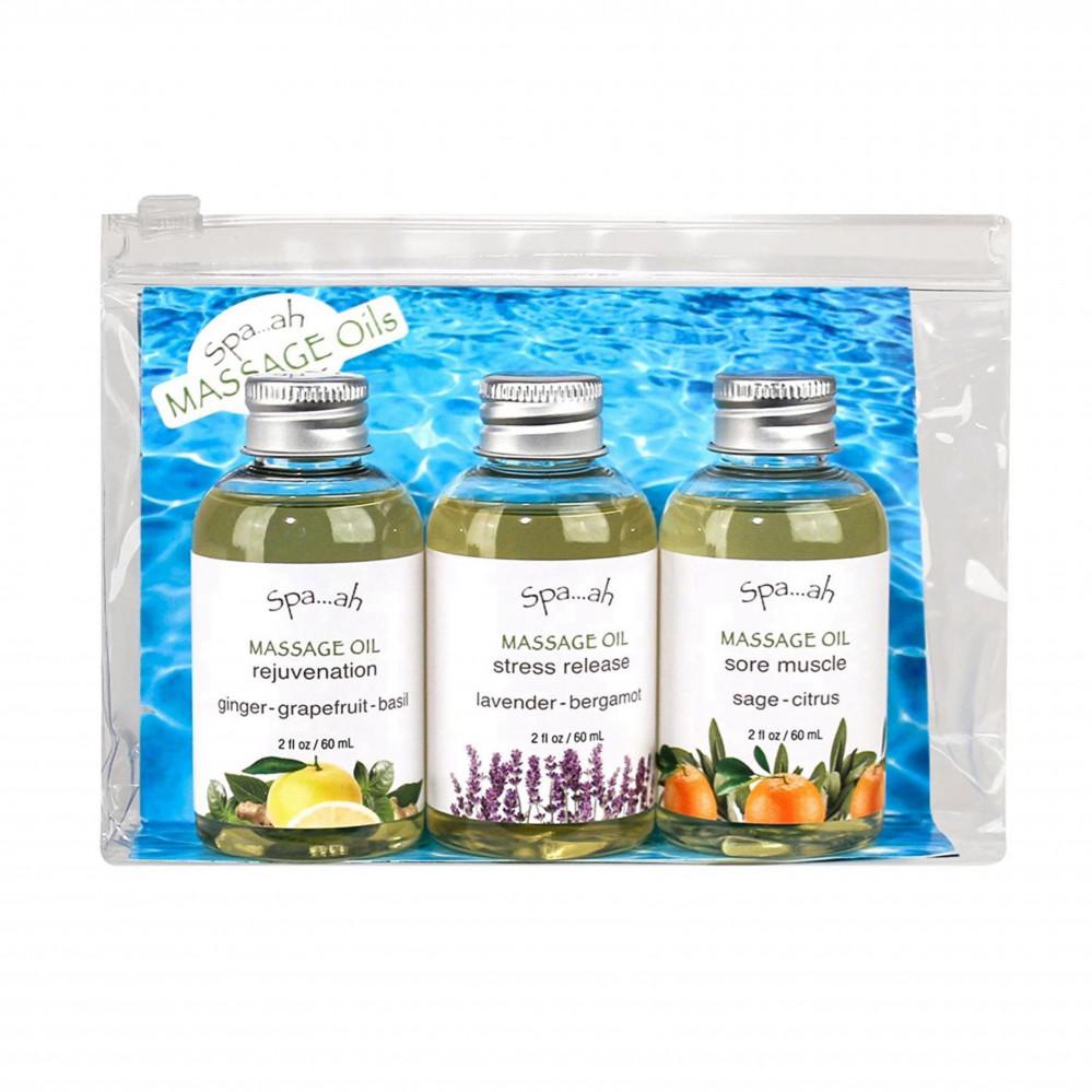 مجموعة زيوت للمساج spa ah  massage oil