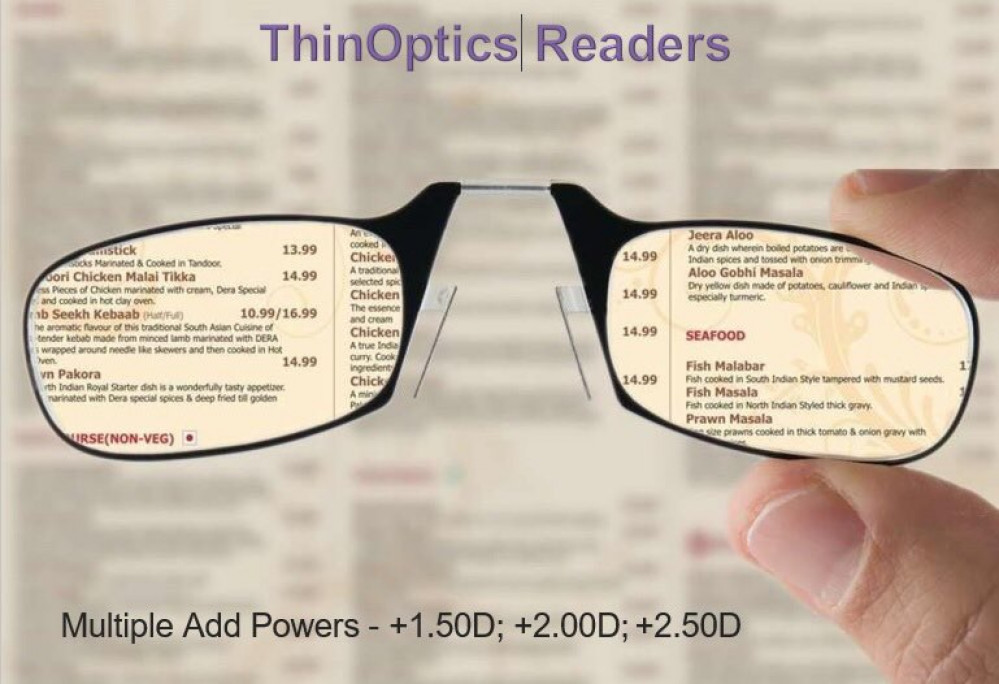 ThinOptics Readers