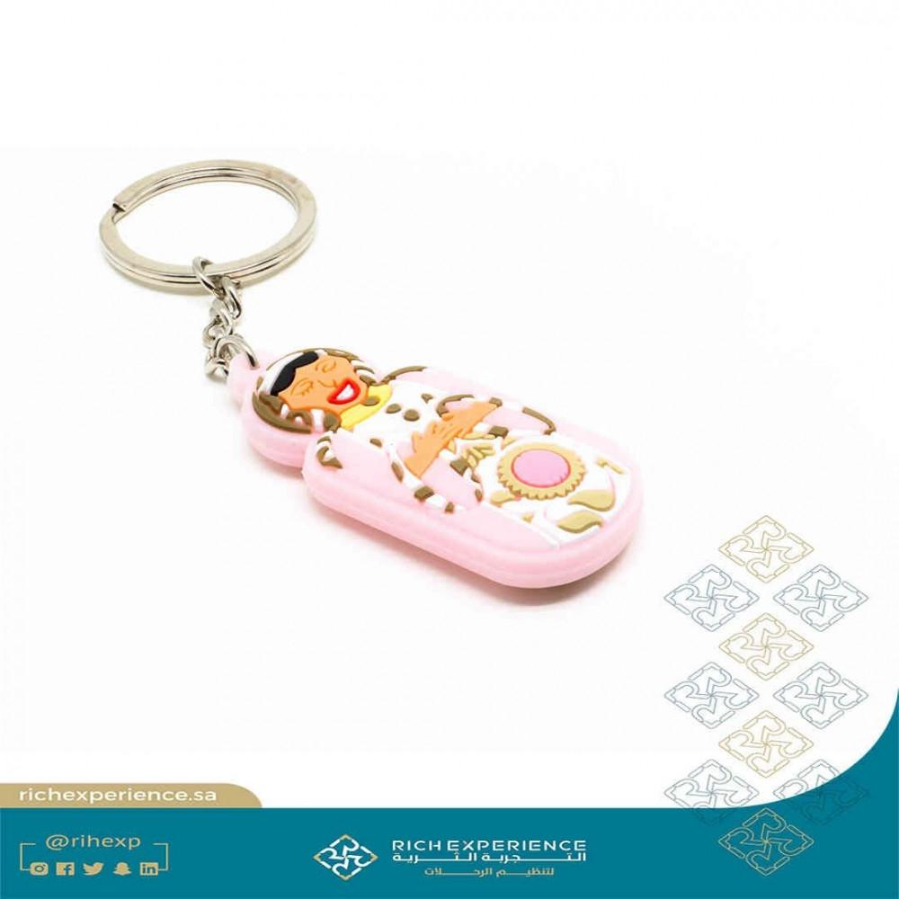 Stetah PVC Keychain 2F