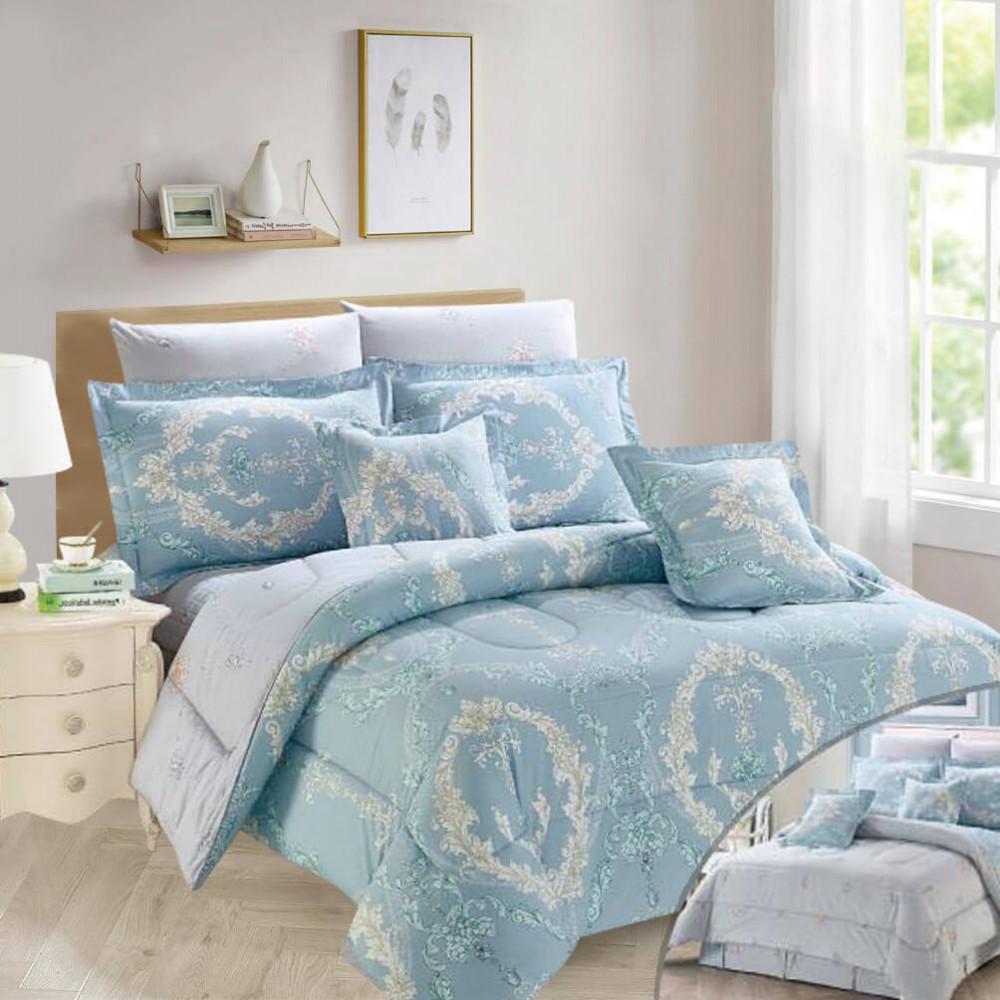 مفروشات سرير صيفية نفر ونص - متجر مفارش ميلين