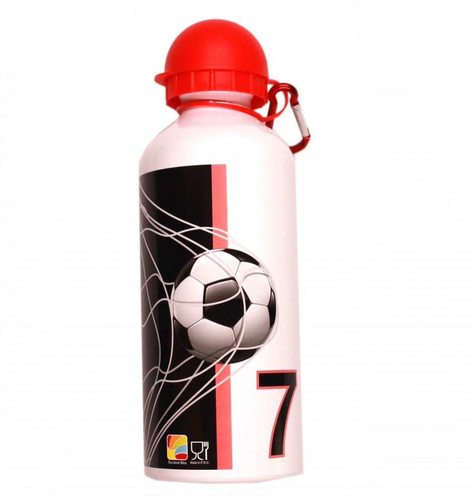 فوتبول- زمزمية الومنيوم 600 مل - Football Aluminium Water Bottle 600 m
