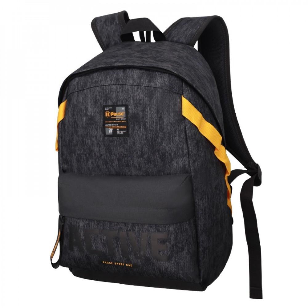 شنطة ظهر 19 انش أسود - بوز Pause Backpack