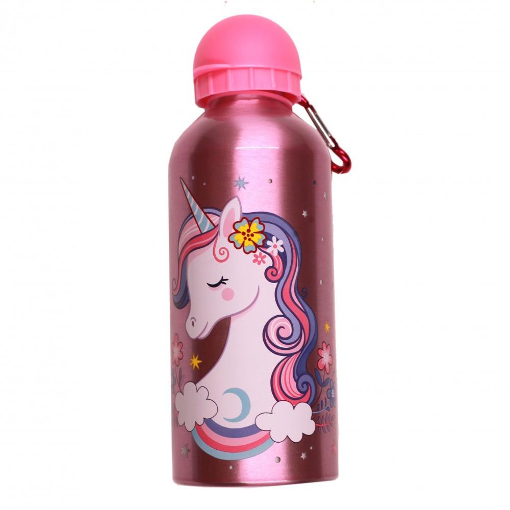 بوني- زمزمية الومنيوم 600 مل - Pony Aluminium Water Bottle 600 ml