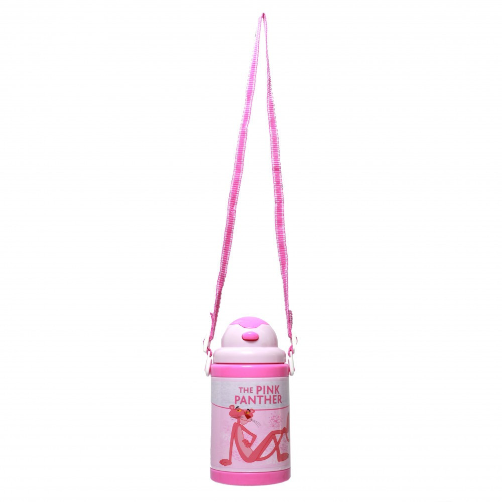 بينك بانثر- زمزمية بلاستيك - Pink Panther Plastic Water Bottle